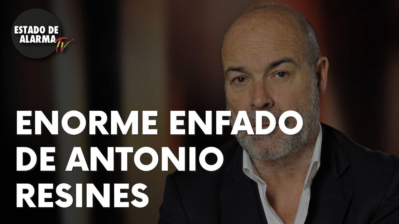 #2020: Vean el ENORME ENFADO de ANTONIO RESINES con el cierre de una oficina de la SEGURIDAD SOCIAL