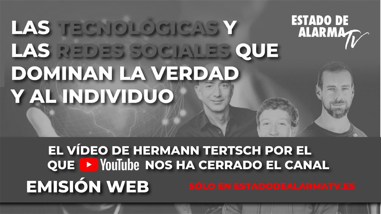 El VÍDEO de HERMANN TERTSCH por el que YOUTUBE nos HA CERRADO el CANAL - El EJE del MAL con Cristina Seguí y Hermann Tertsch