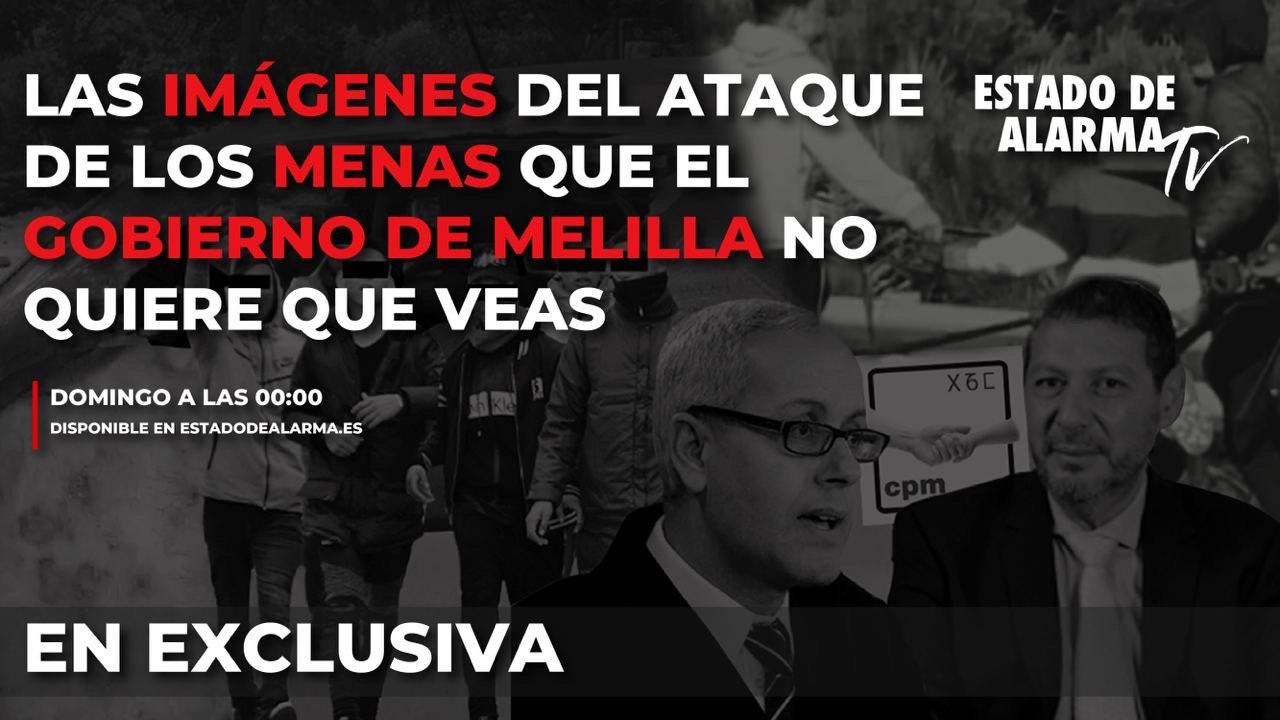 Las imágenes del ataque de los menas infectados de sarna que el Gobierno de Melilla no quiere que veas