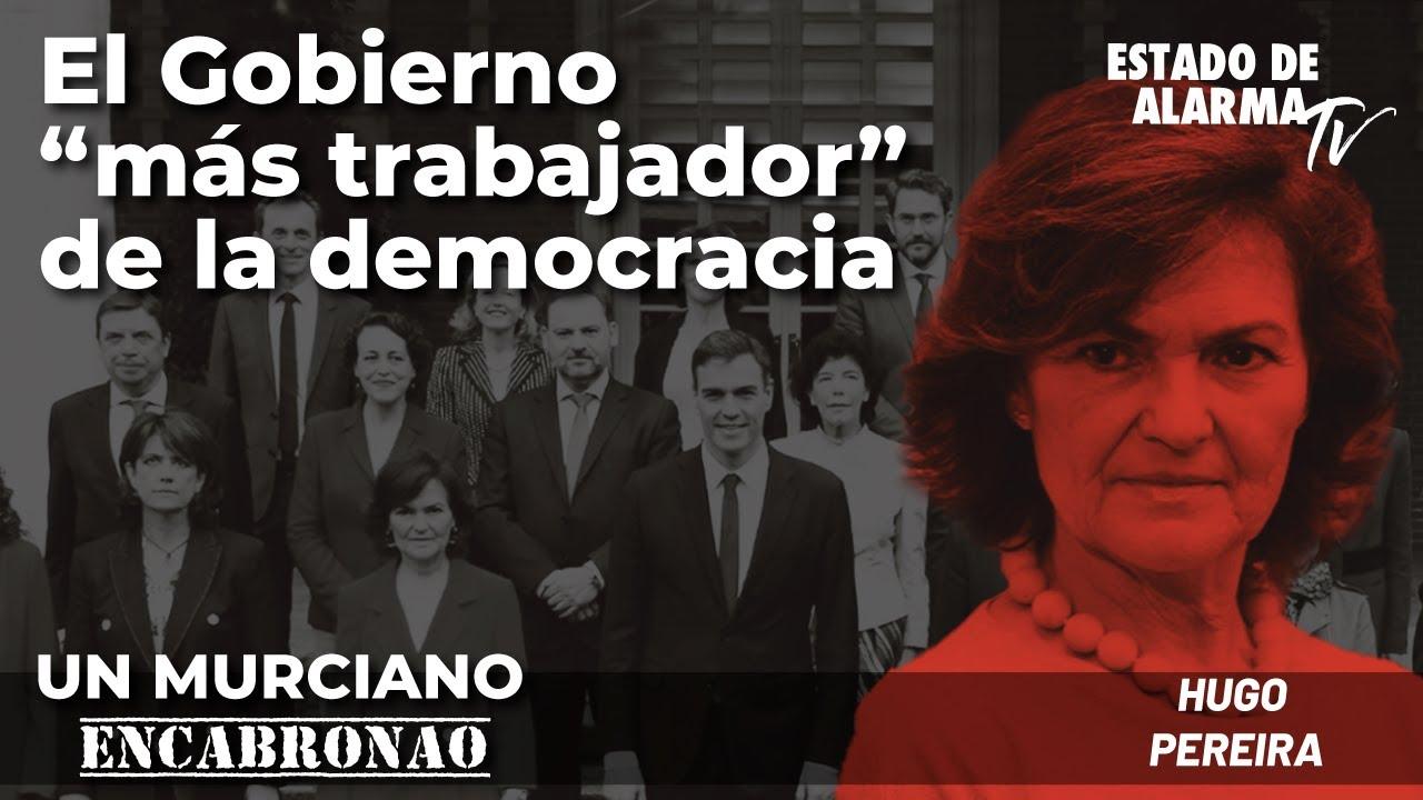 En Directo Un Murciano Encabronao con Hugo Pereira: El Gobierno más