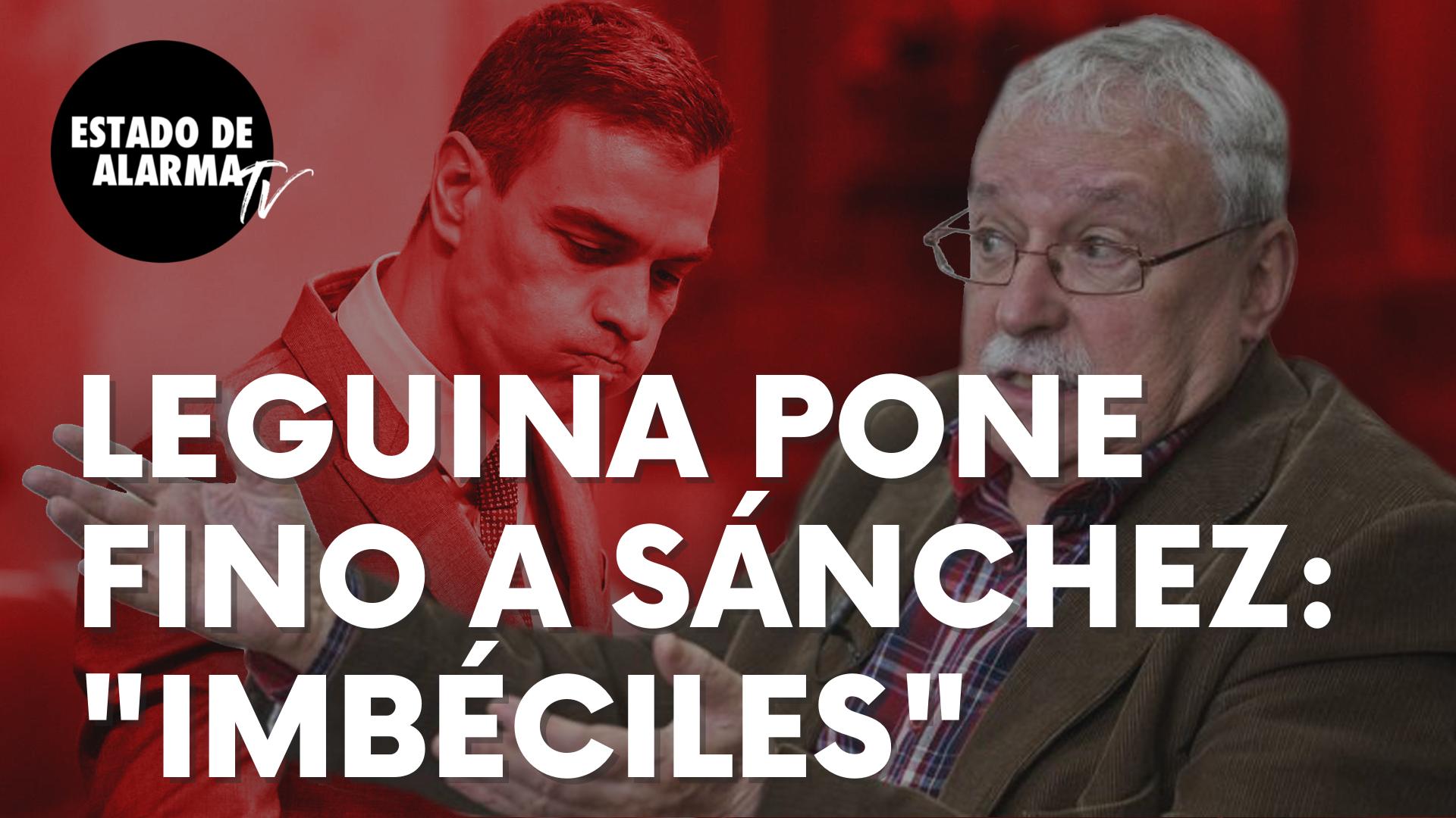"Joaquín Leguina pone 'fino' a Sánchez por querer echarlo del PSOE tras su apoyo a Ayuso: ""Imbéciles"""