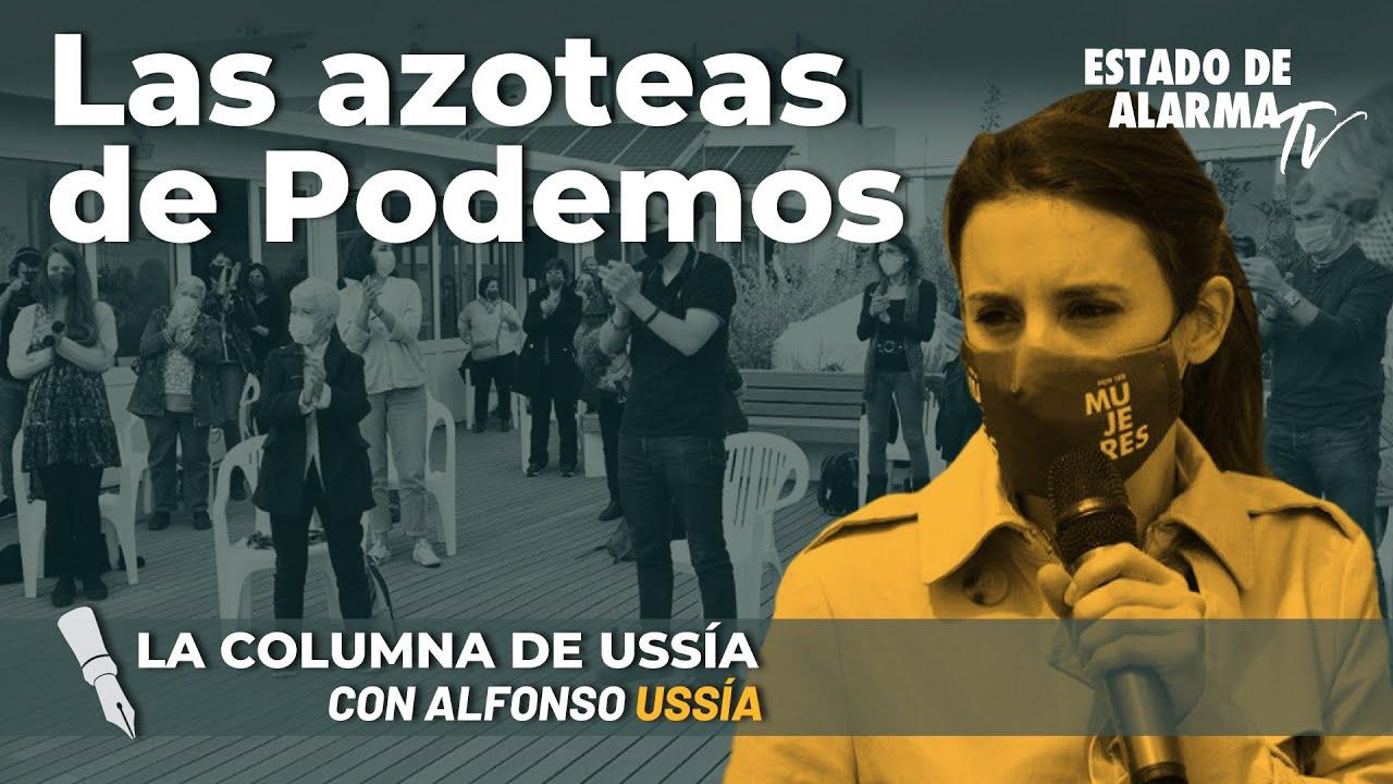 La columna de Alfonso Ussía; Los de la azotea