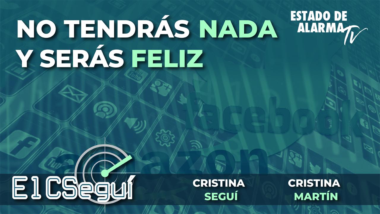 En DIRECTO EL CSEGUÍ: No tendrás NADA y serás FELIZ, Cristina Seguí y Cristina Martín