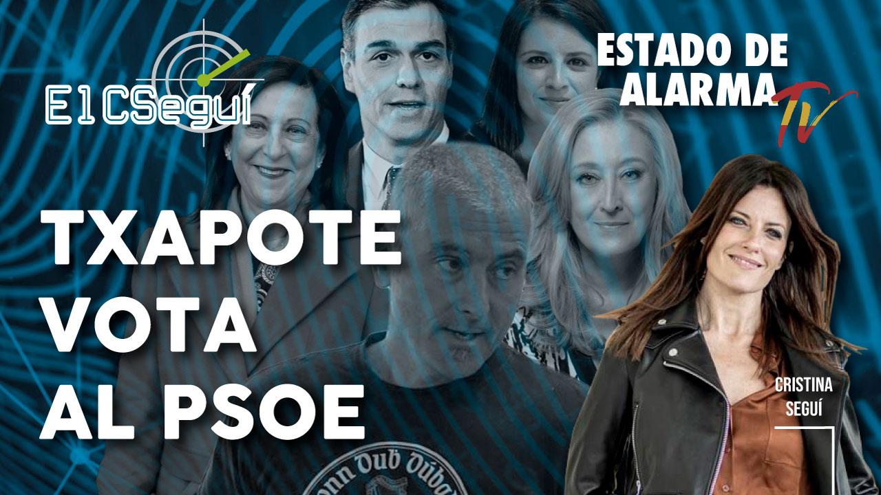 El CSEGUÍ: TXAPOTE vota al PSOE