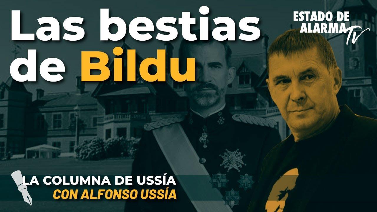 La columna de Alfonso Ussía: Las bestias de Bildu