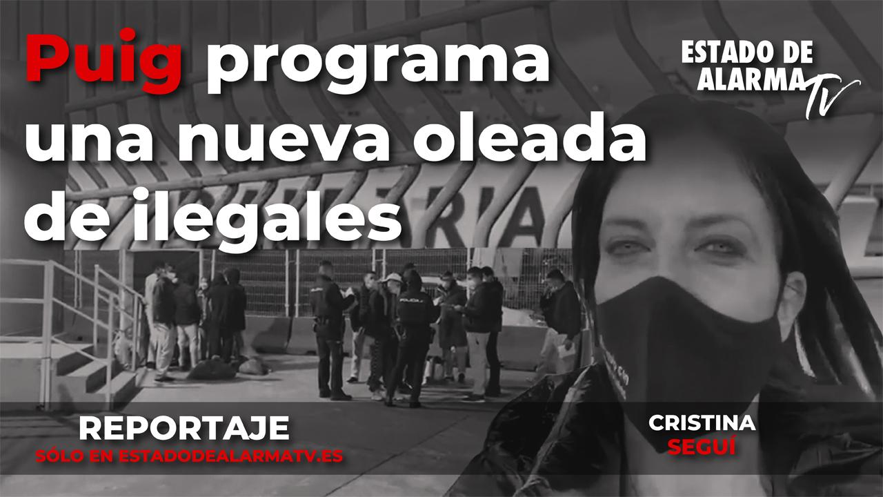 Reportaje con Cristina Seguí- Puig programa una nueva oleada de ilegales