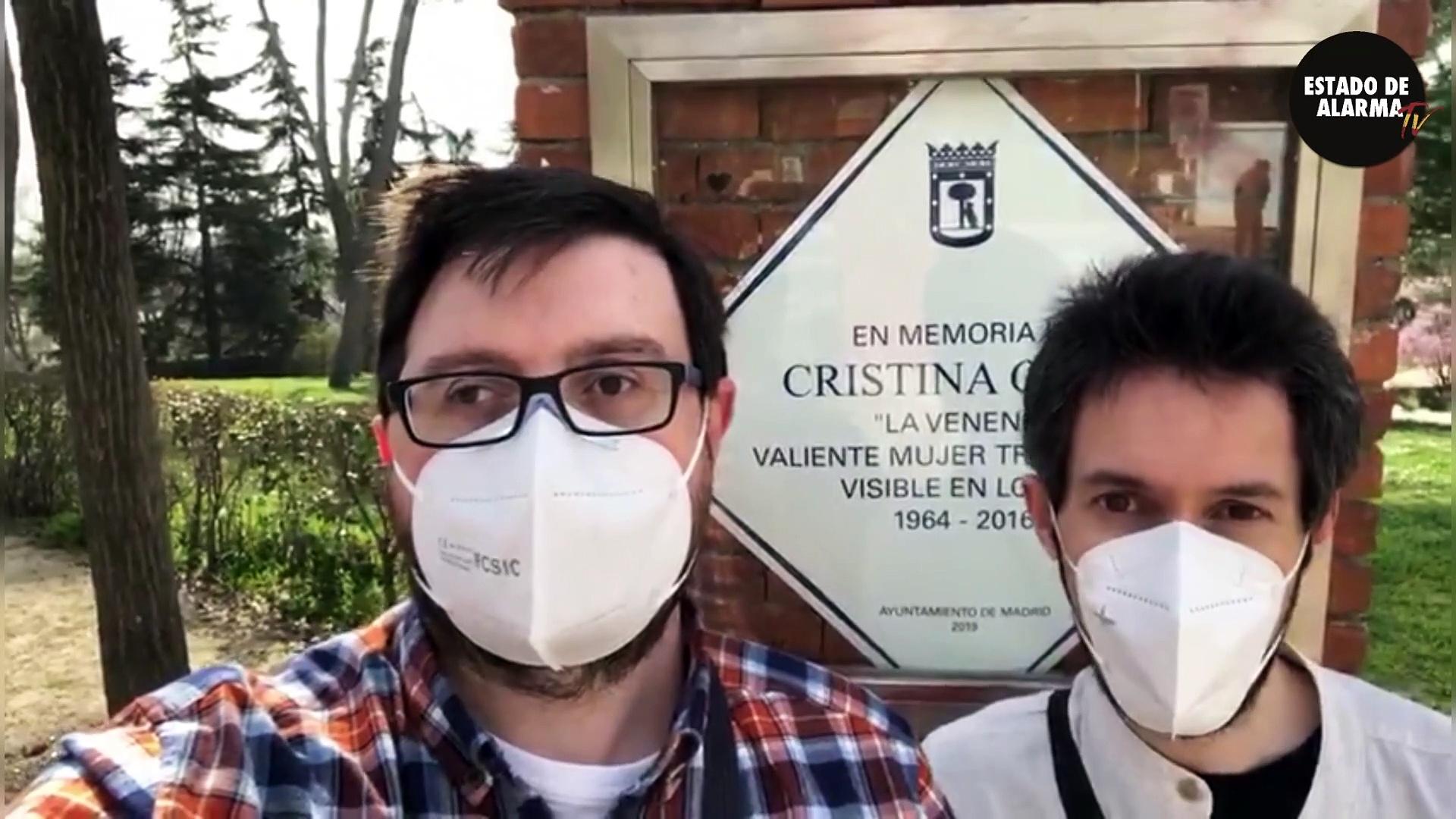 Vandalizan la placa de 'La Veneno' en Madrid