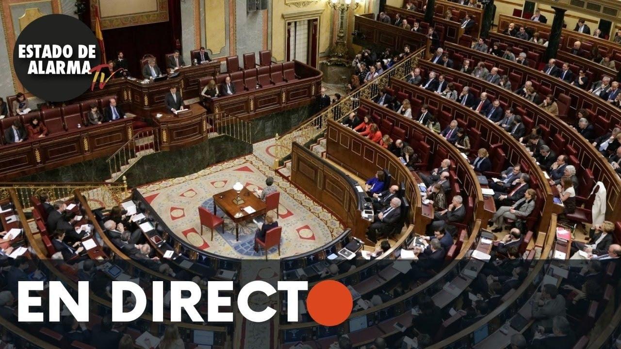 DIRECTO | Sesión plenaria Congreso de los Diputados