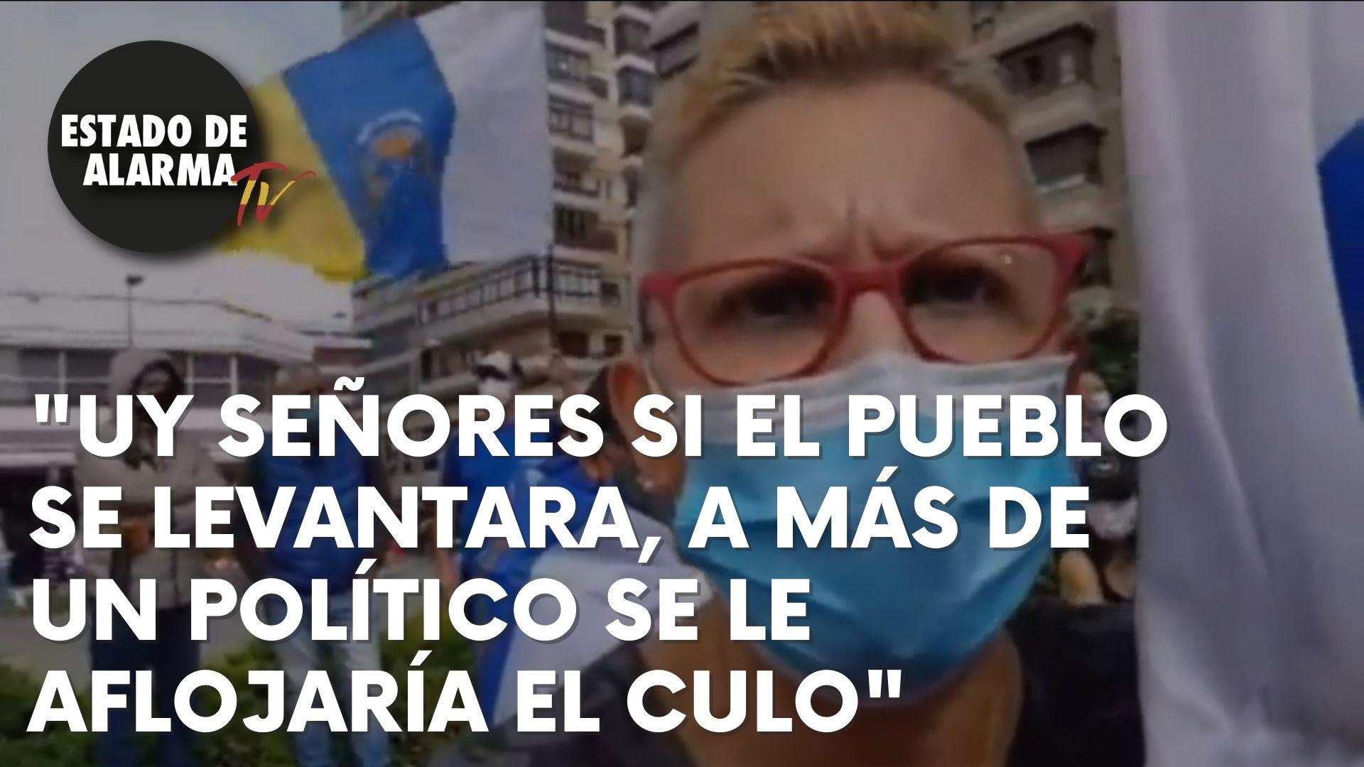 ¡CLAMOR de los CANARIOS! ESTADO DE ALARMA da voz a la INDIGNACIÓN contra LA INVASIÓN de ILEGALES