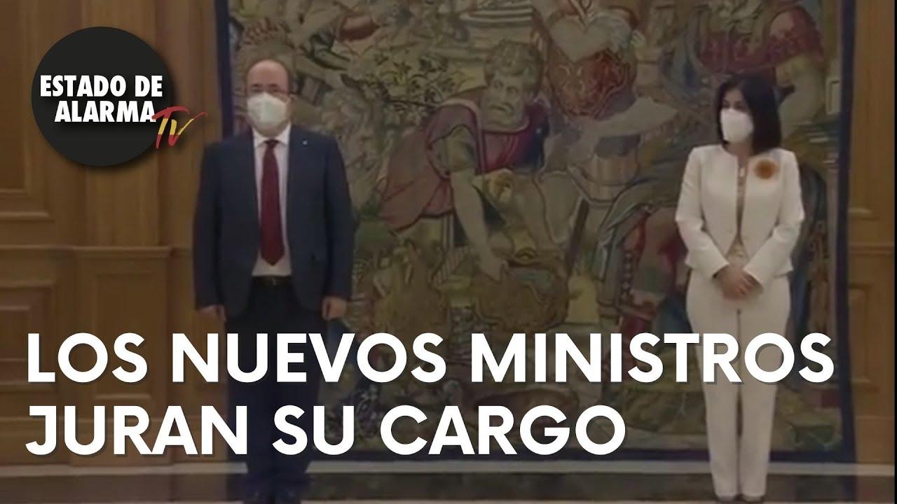 LOS NUEVOS MINISTROS JURAN SU CARGO