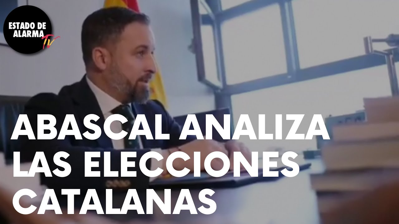 Gran ANALISIS de ABASCAL sobre las ELECCIONES de CATALUÑA