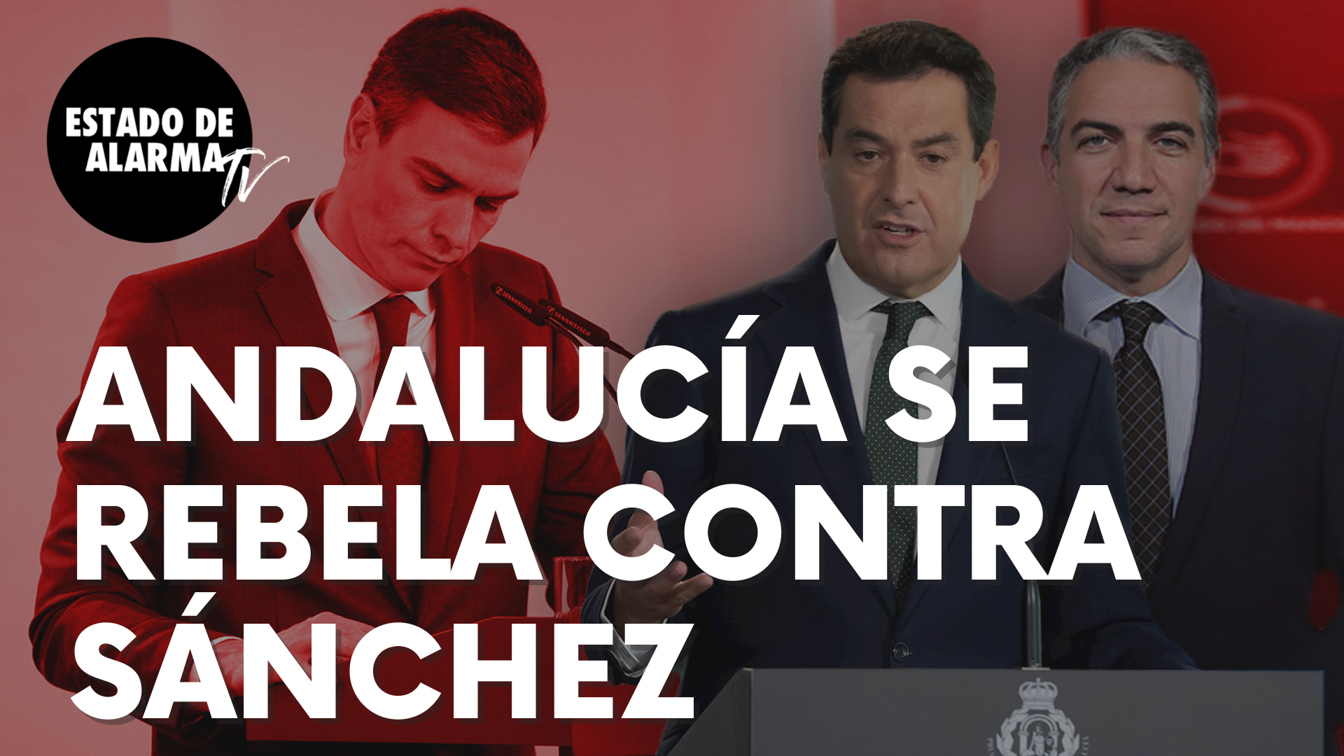 """Andalucía estalla y se rebela contra Pedro Sánchez: """"Seremos el muro de hielo…"""""""