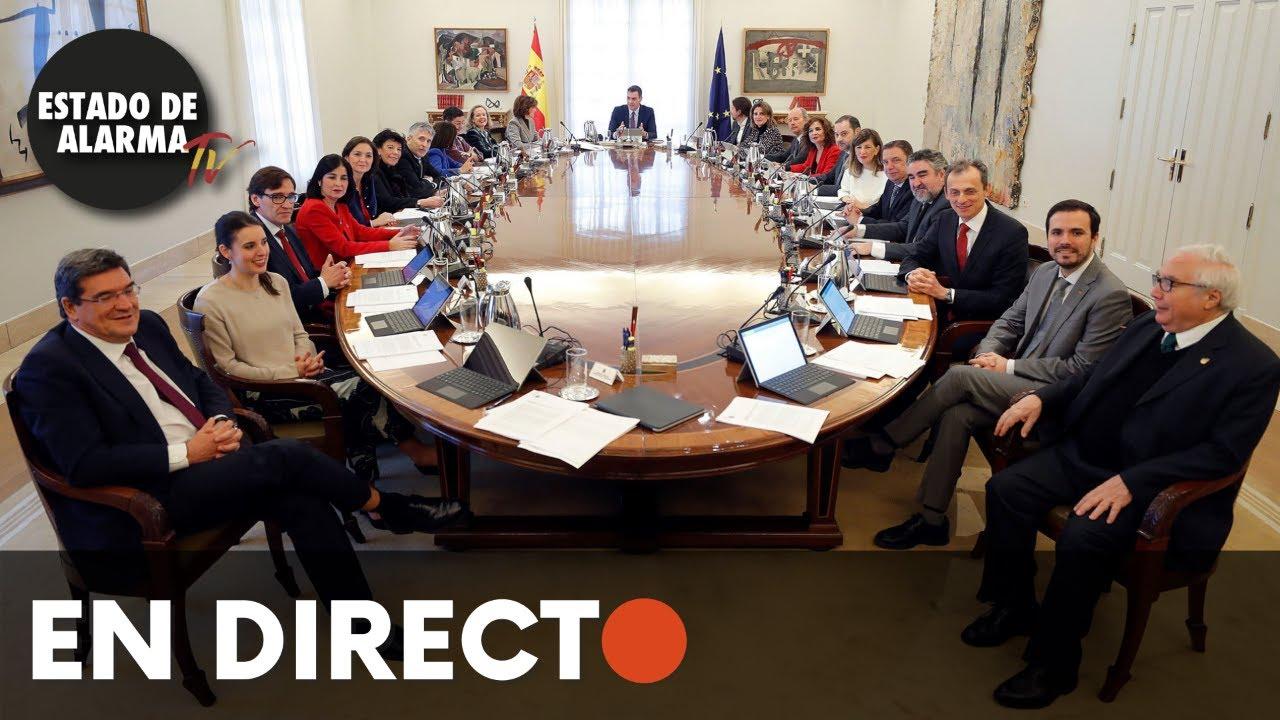 EN DIRECTO | Rueda de prensa del consejo de Ministros