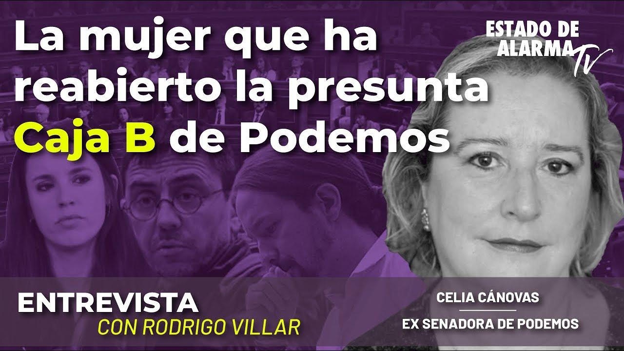 Entrevista a Celia Cánovas: La mujer que ha reabierto la presunta Caja B de Podemos