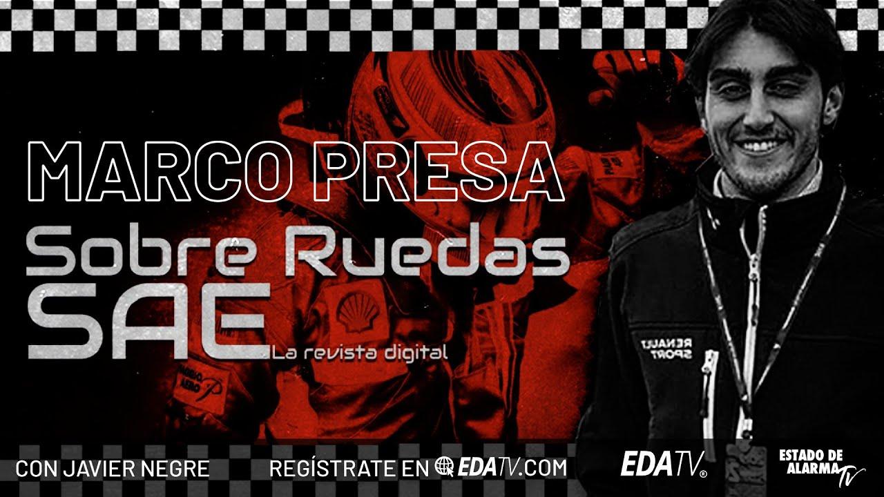 Presentación del canal 'Sobre Ruedas' en EDATV, con Marco Presa y Javier Negre