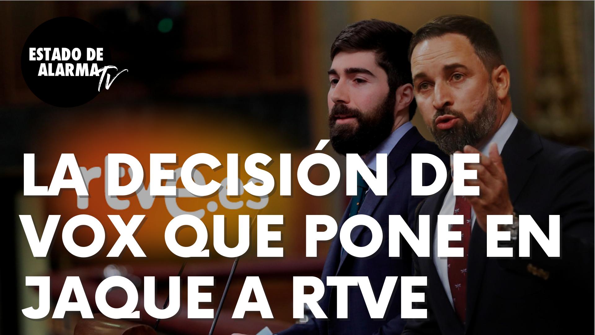 """La inesperada decisión de Vox que pone en jaque al nuevo presidente de RTVE: """"No lo vamos a hacer…"""""""