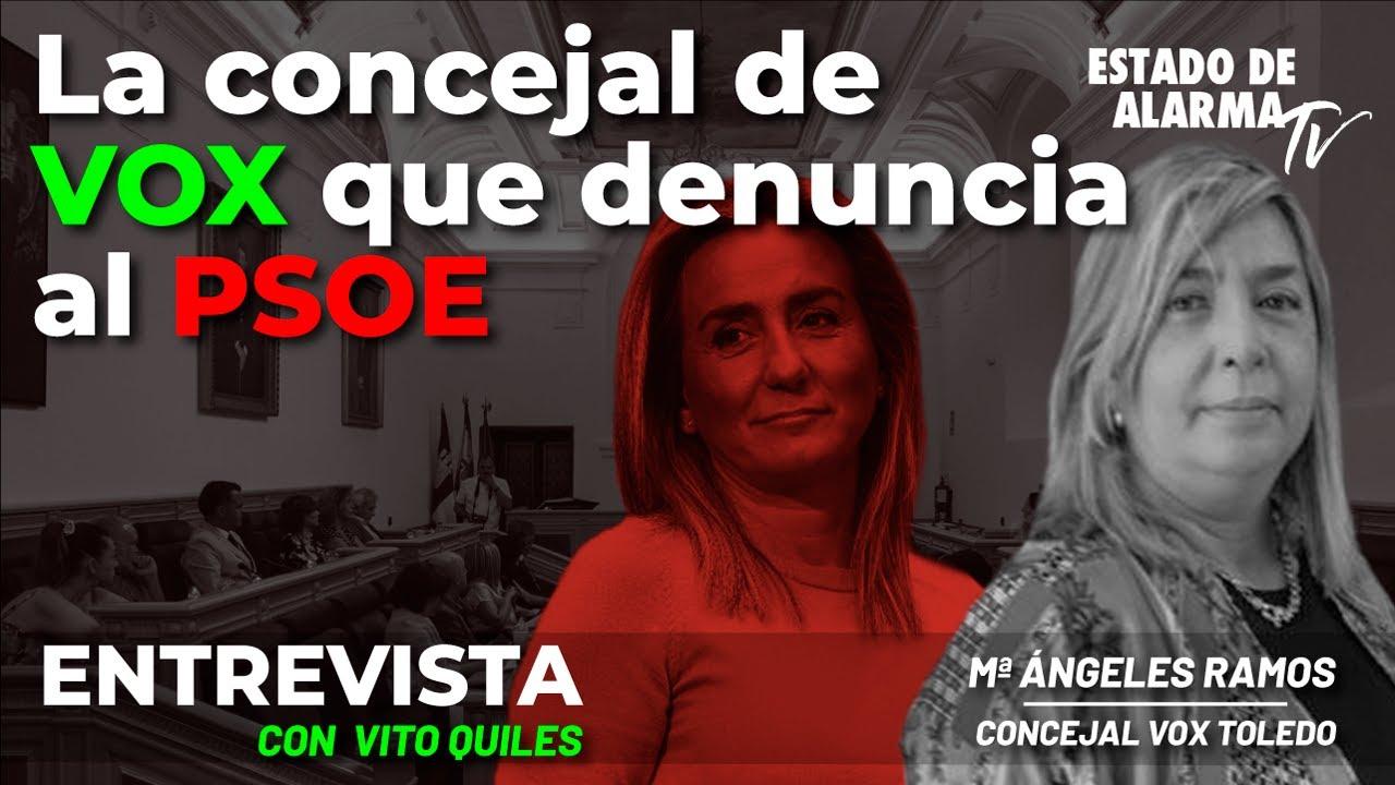 Entrevista a Maria Ángeles Ramos: La concejal de VOX que denuncia al PSOE, Directo con Vito Quiles
