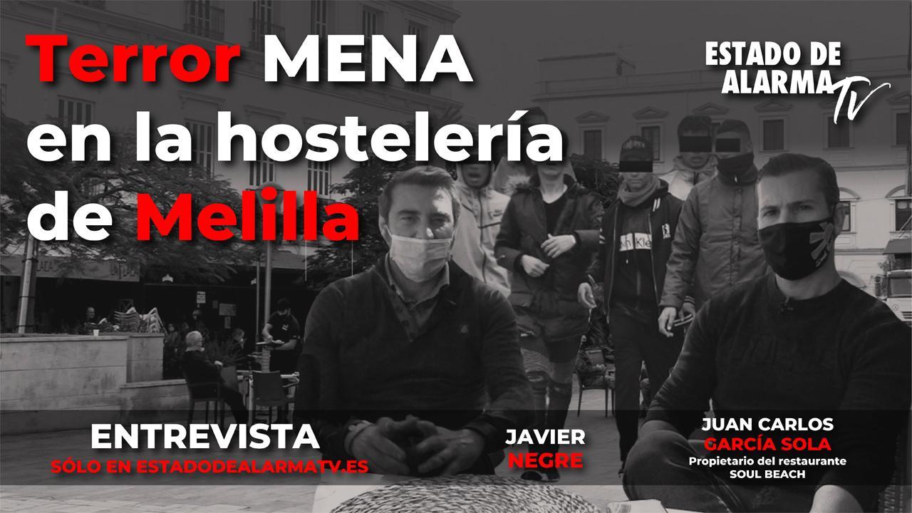 Terror mena en la hostelería de Melilla // Entrevista a Juan Carlos García Sola