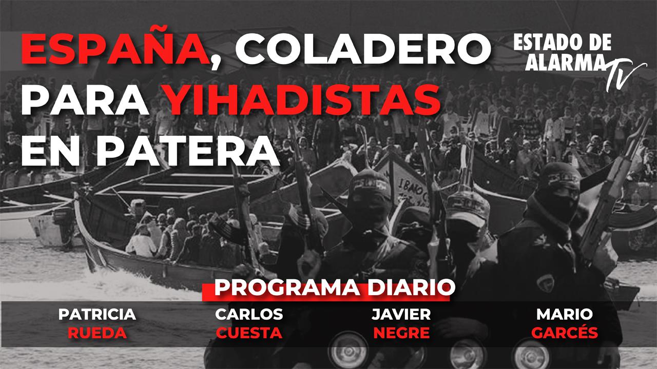 En DIRECTO con JAVIER NEGRE: ESPAÑA, COLADERO para YIHADISTAS en PATERA