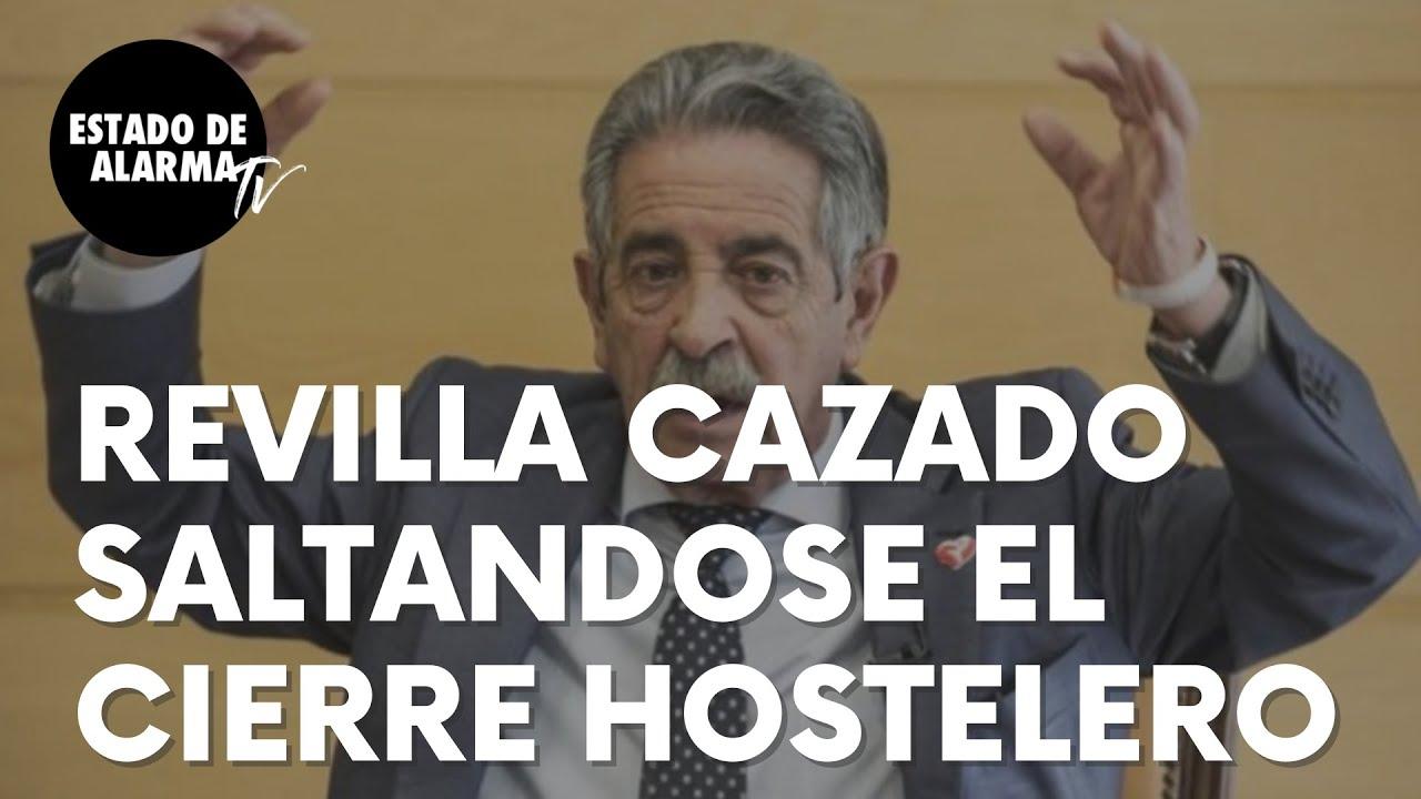 Miguel Ángel Revilla 'cazado' saltándose el cierre de la hostelería impuesto por su propio Gobierno
