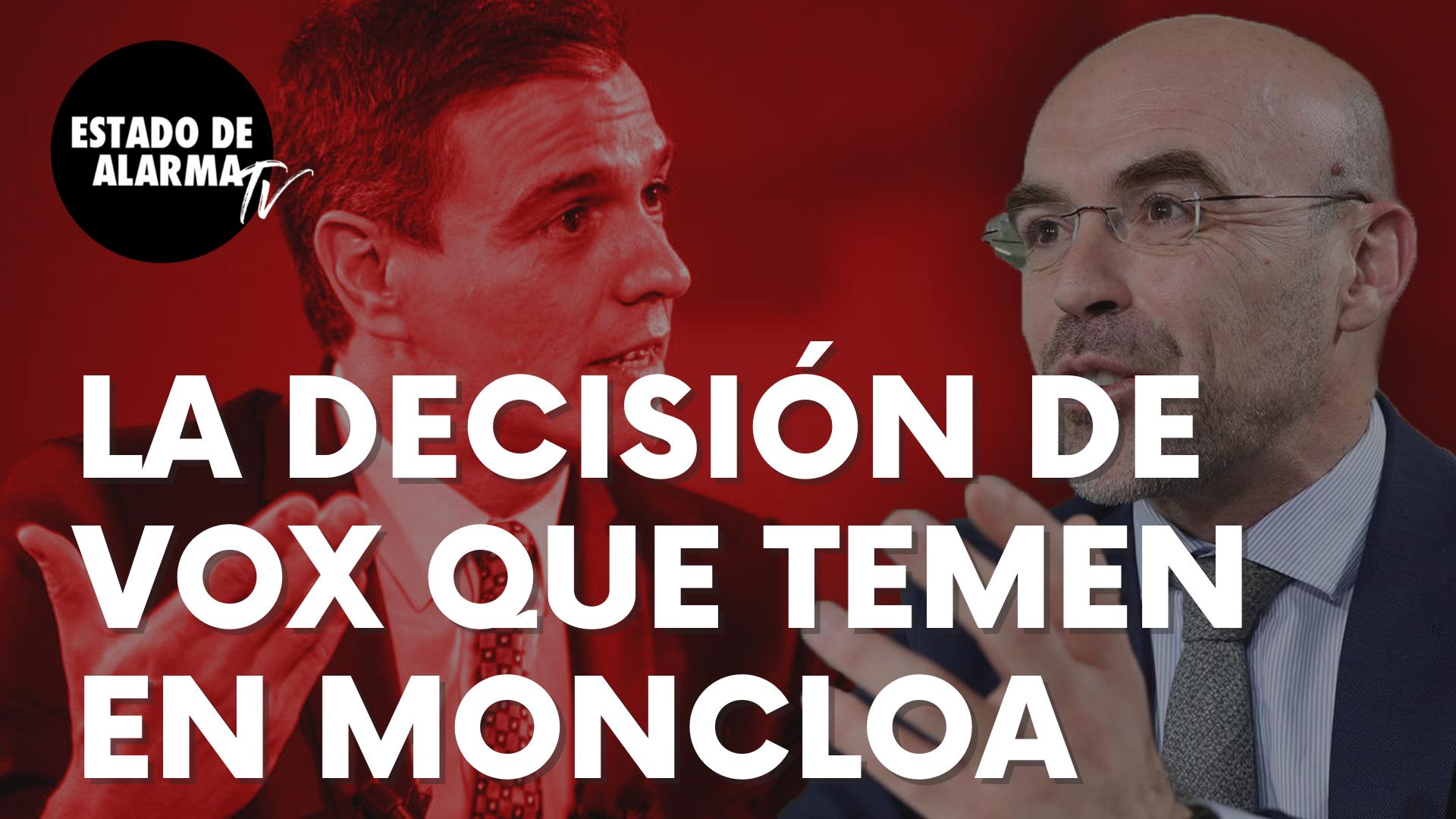"""La decisión de Vox contra el Gobierno de Sánchez que temen en Moncloa: """"Un absoluto abuso"""""""