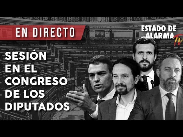 DIRECTO | Sesión plenaria en el Congreso de los Diputados 18/11/2020