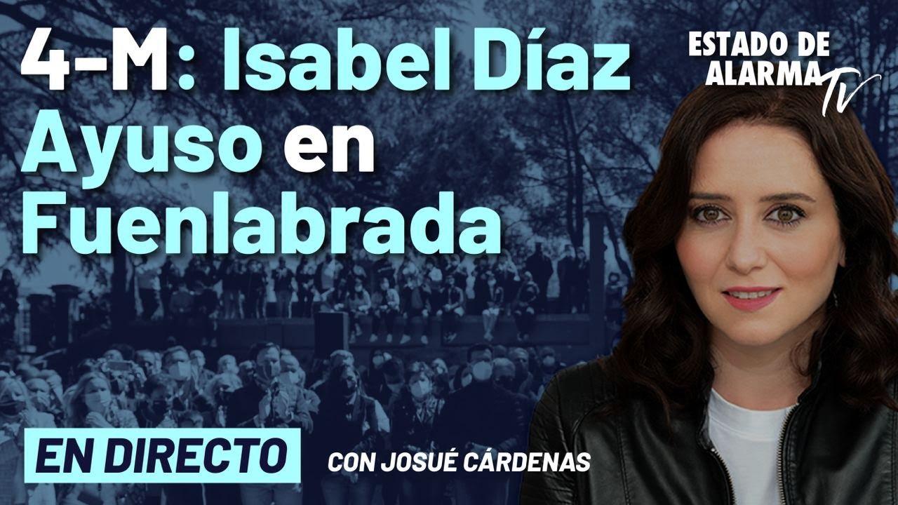 DIRECTO | Acto de campaña con Isabel Díaz Ayuso en Fuenlabrada