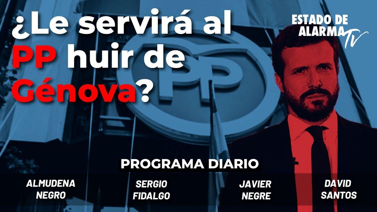En Directo con Javier Negre: ¿Le servirá al PP huir de Génova?; Almudena Negro, Sergio Fidalgo