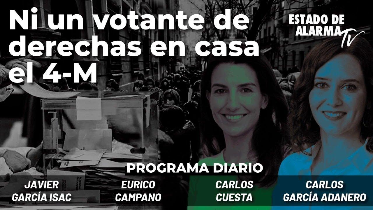 Ni un votante de derechas en casa el 4-M. En Directo Campano, García Isac, Cuesta y García Adanero