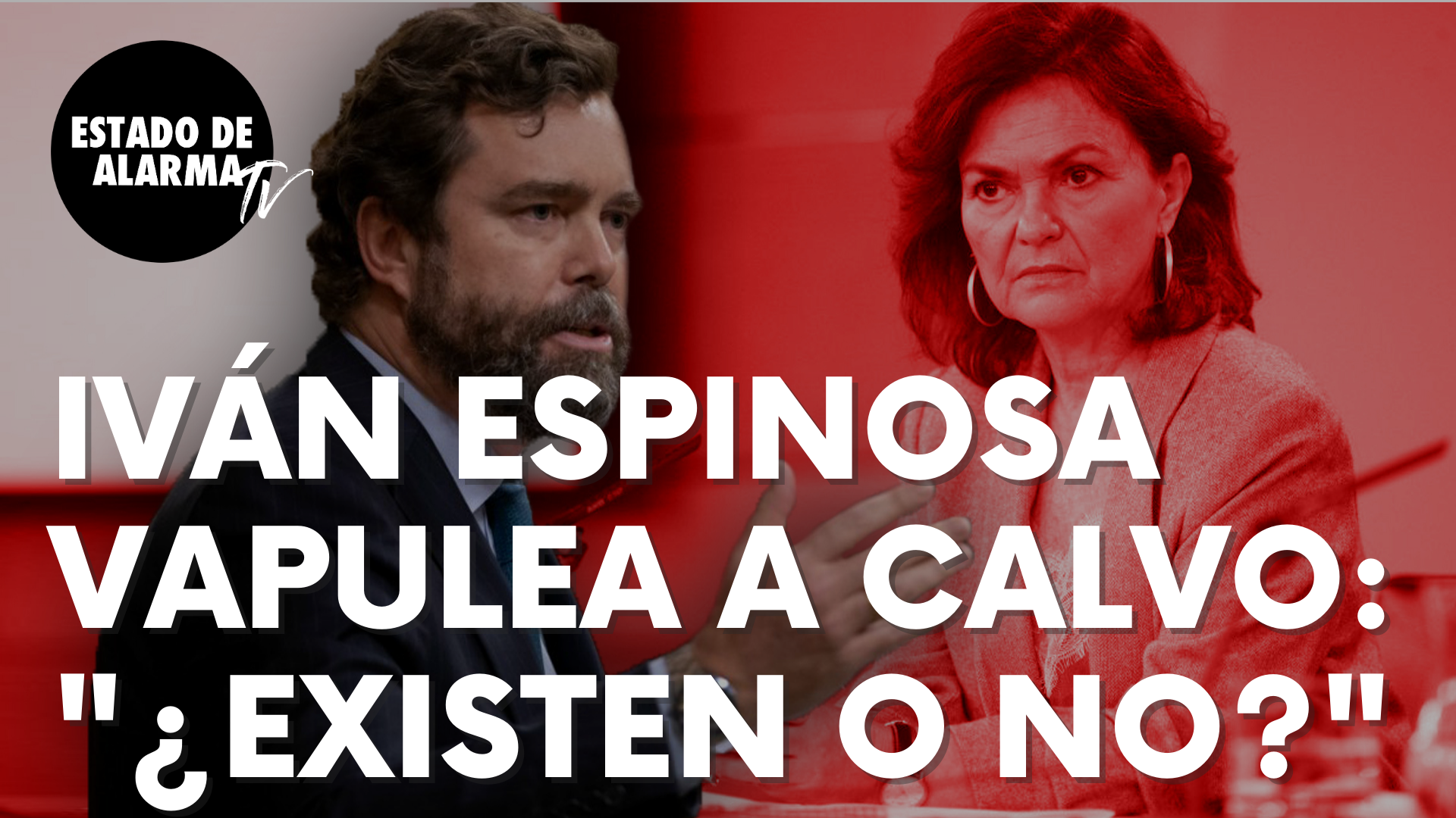 """Iván Espinosa de los Monteros vapulea a Carmen Calvo: """"¿Existen los 'menas' o no existen?"""""""