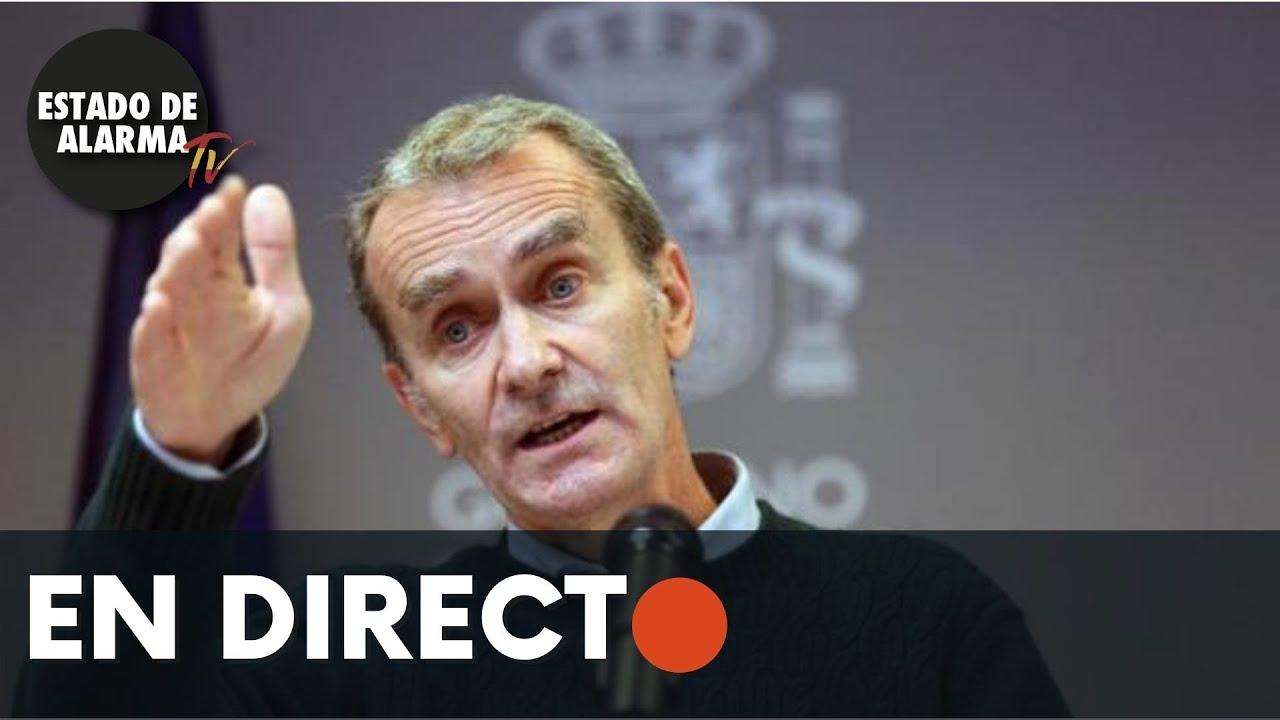 DIRECTO | Rueda de prensa de Fernando Simón