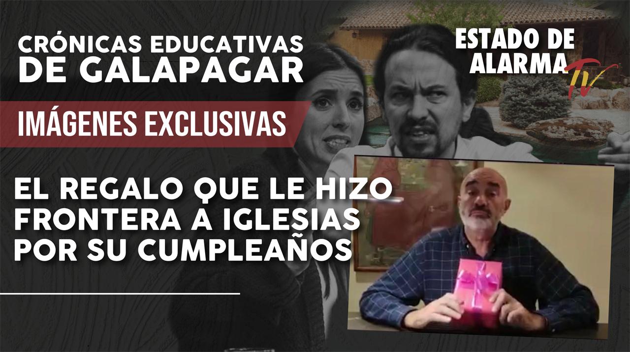 El regalo que le hizo Frontera a Iglesias por su cumpleaños