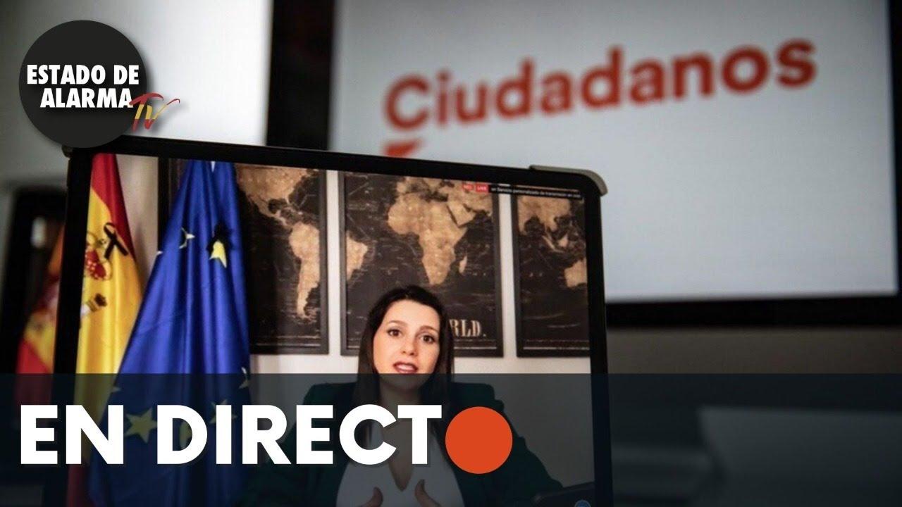 DIRECTO | Rueda de prensa telemática Ciudadanos
