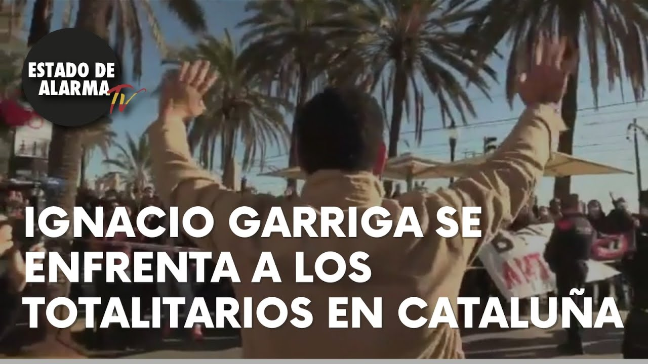 "Garriga: "" Lograremos recuperar la CATALUÑA que nos arrebataron"""