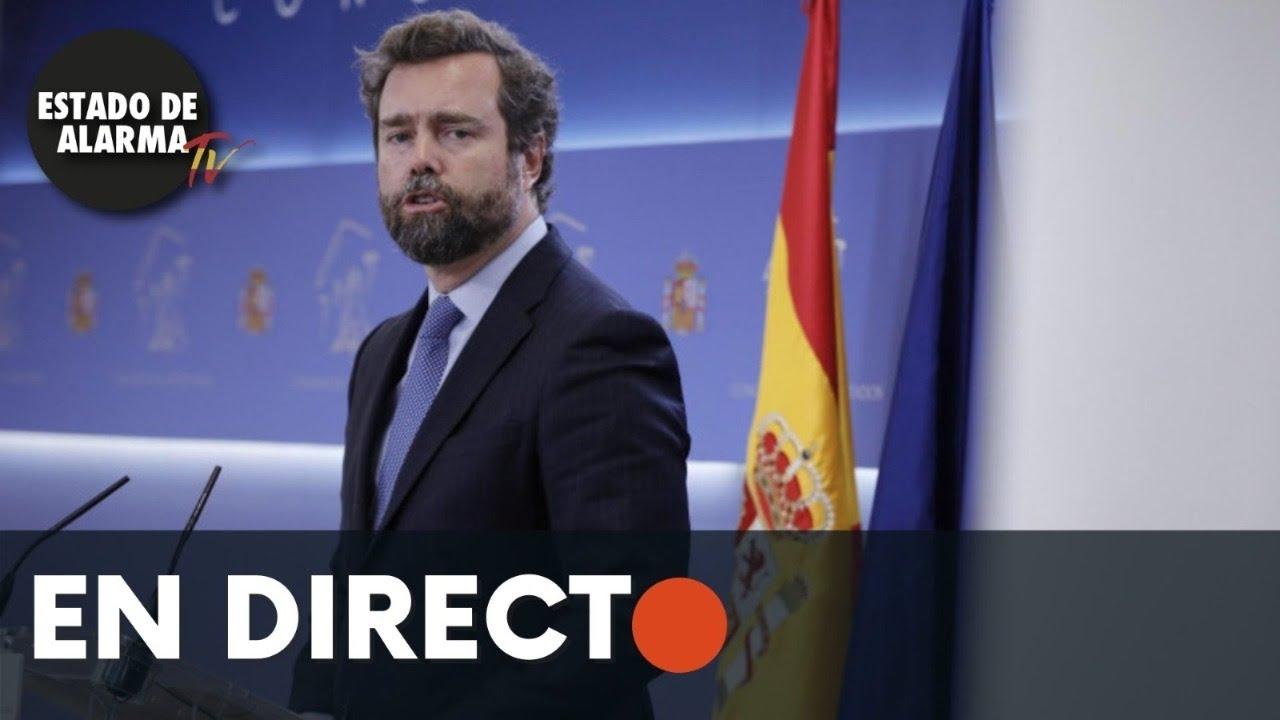 DIRECTO | Rueda de prensa Iván Espinosa de los Monteros VOX