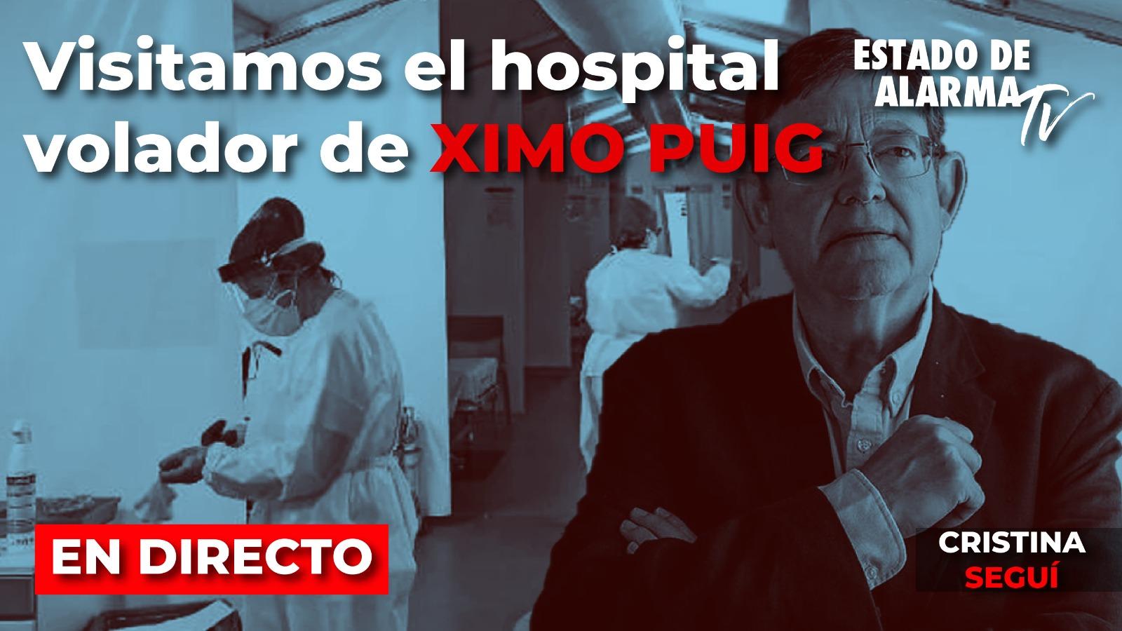 EN DIRECTO | Visitamos el HOSPITAL de campaña de VALENCIA con Cristina Seguí