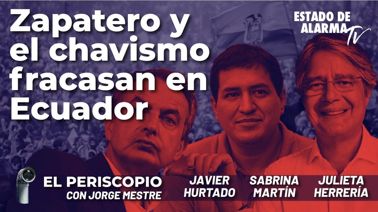 Zapatero y el chavismo fracasan en Ecuador; Directo con Jorge Mestre, Hurtado, Martín, Herrería