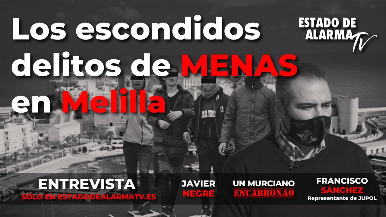 Entrevista- Los escondidos delitos de MENAS en Melilla, Francisco Sánchez JUPOL