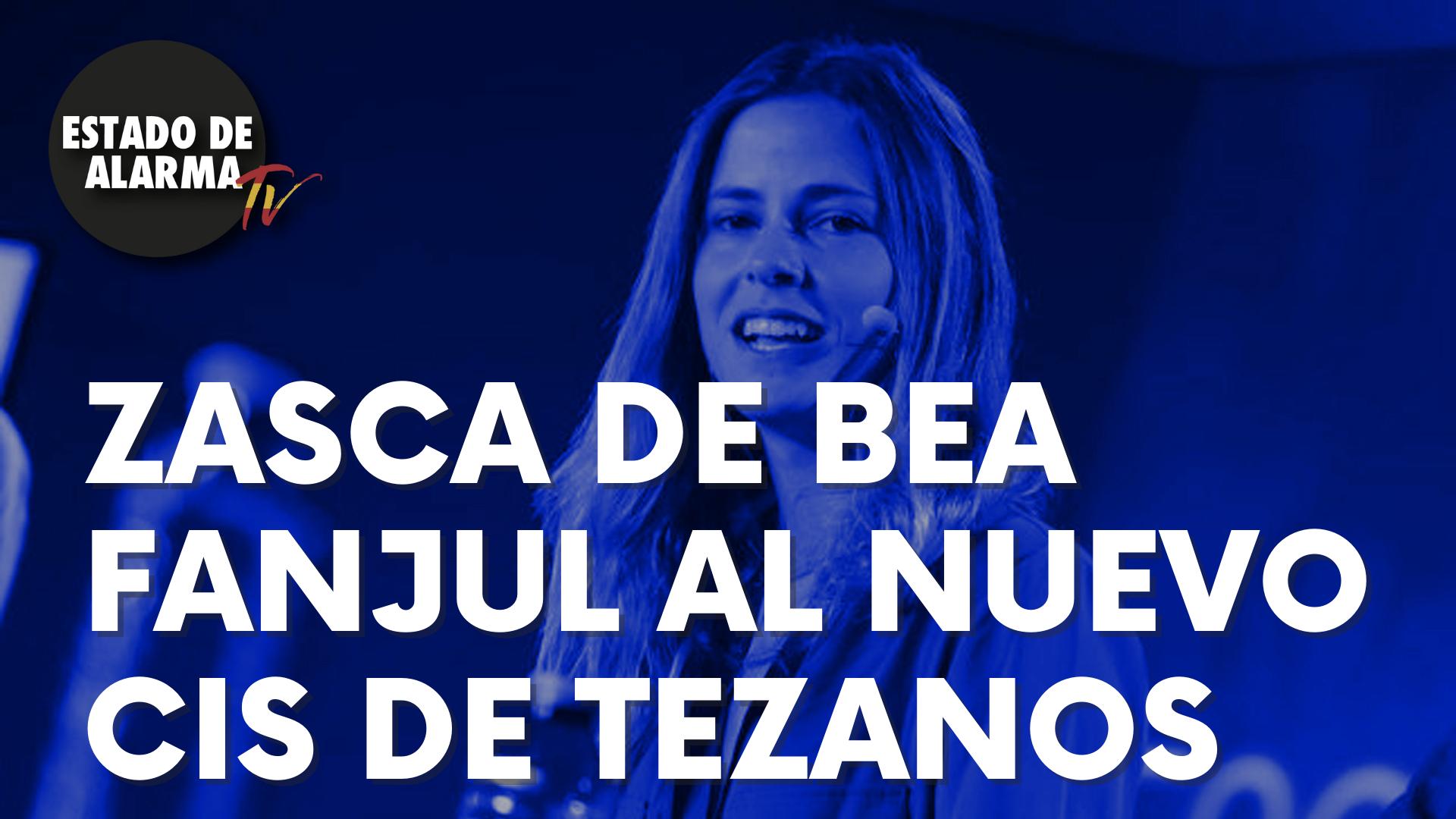 Zasca de la nueva presidenta de NNGG, Bea Fanjul, a Tezanos por el nuevo CIS