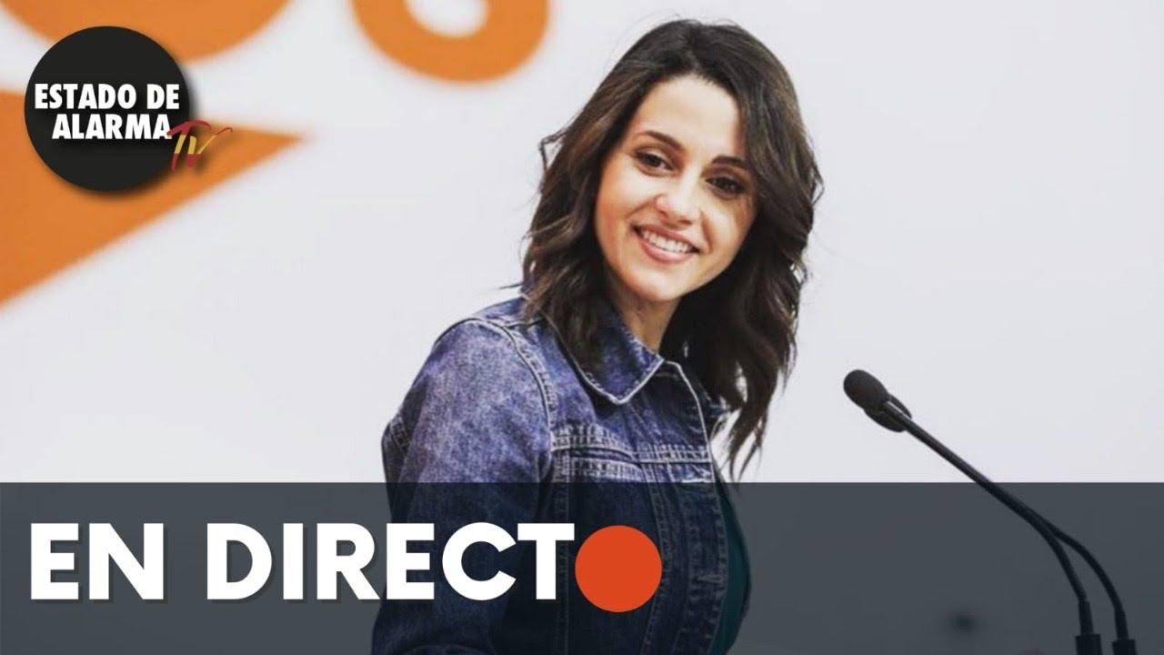 DIRECTO | Encuentro entre el Presidente de Aragón y la líder de Ciudadanos, Inés Arrimadas