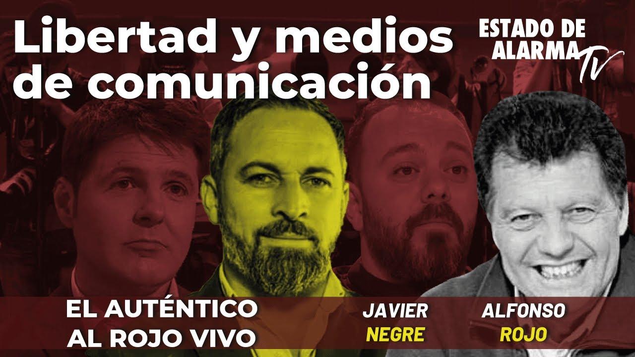 El Auténtico Al Rojo Vivo: Libertad y medios de comunicación. Directo Alfonso Rojo, Pereira