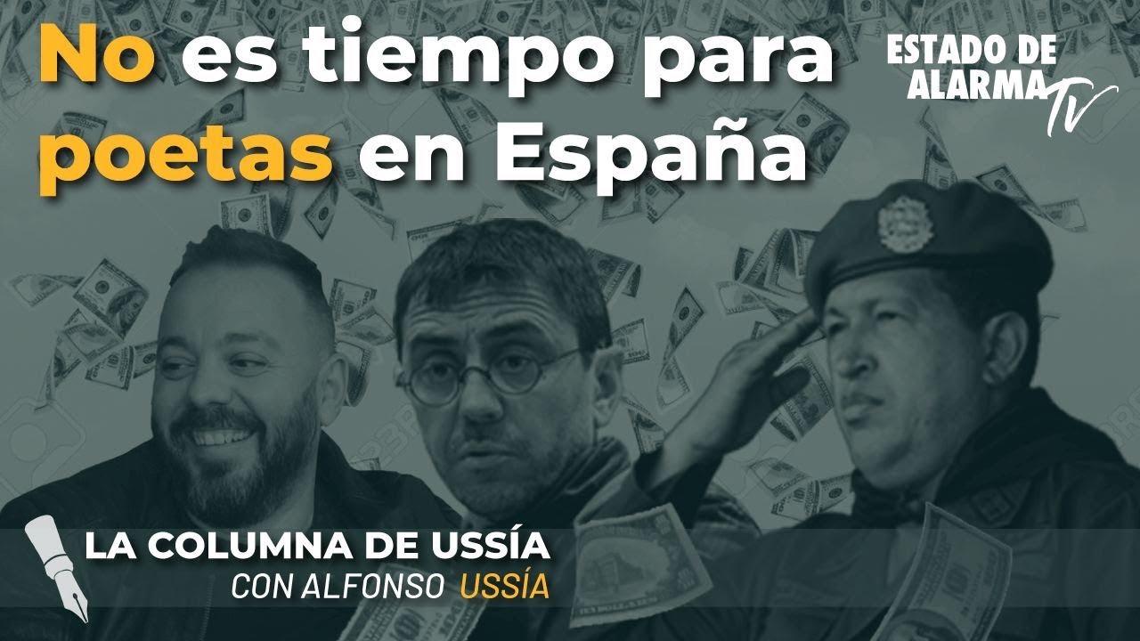 La columna de Alfonso Ussía No es tiempo para poetas en España