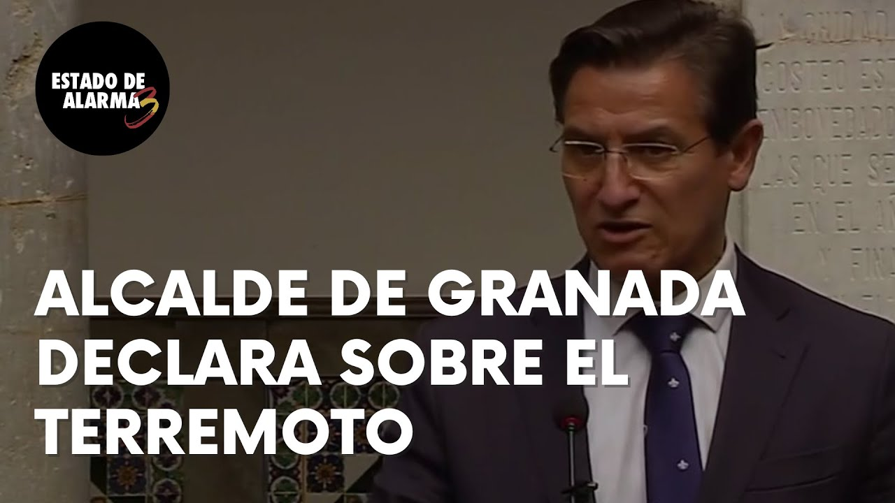 Alcalde de Granada pide precaución ante los terremotos