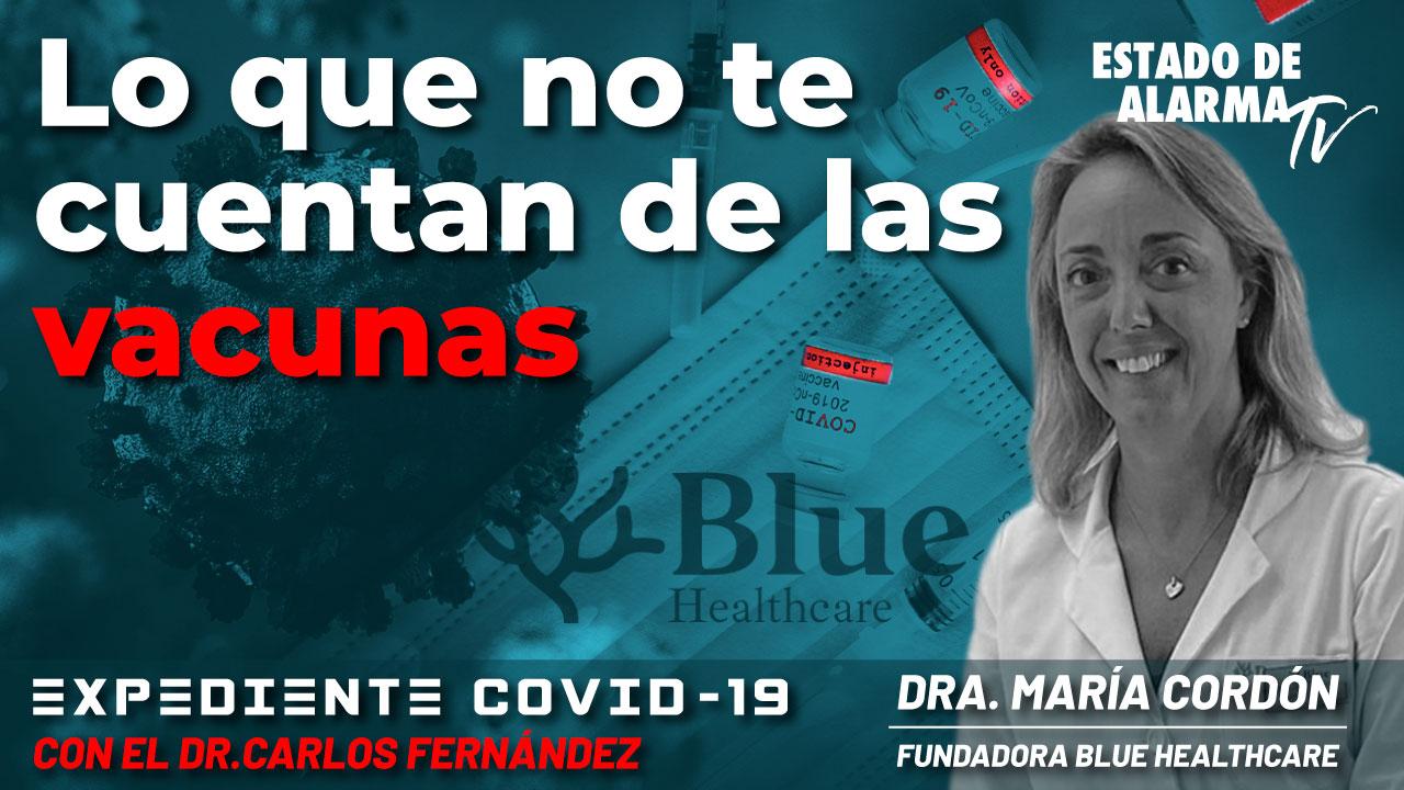 En Directo con el Dr. Carlos Fernández: Lo que no te cuentan de las vacunas, con Dra. María Cordón, Fundadora de Blue Heathcare