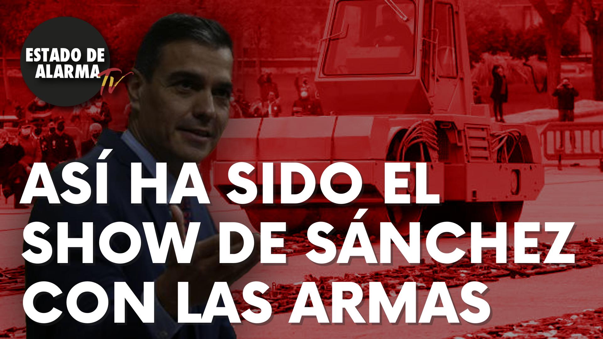 Así ha sido el show de Sánchez con las armas de ETA