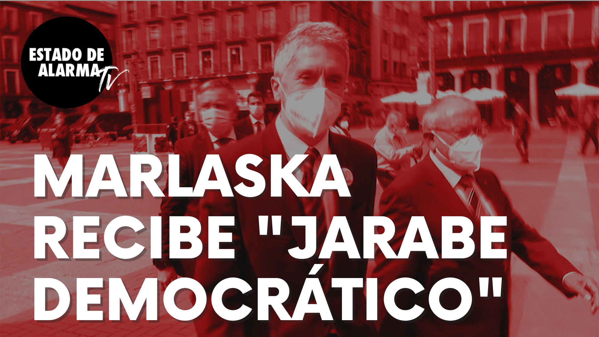 """El ministro Fernando Grande-Marlaska, recibe """"jarabe democrático"""" en Valladolid: """"Sinvergüenza"""""""