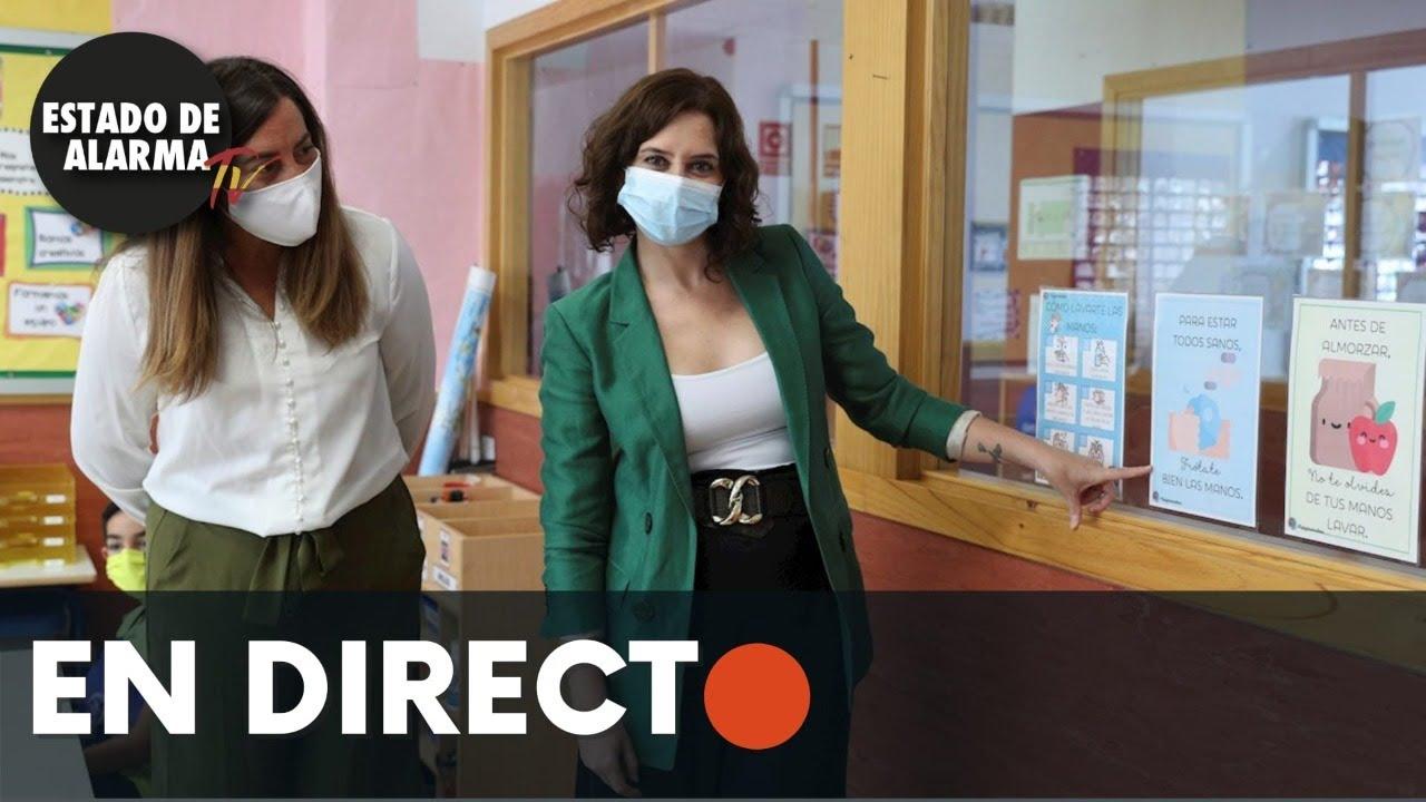 DIRECTO | Isabel Diaz Ayuso visita un centro integral de Formación Profesional