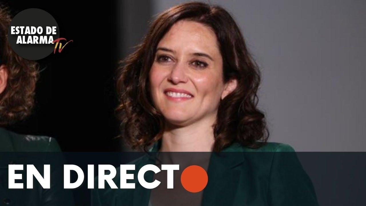 DIRECTO | Isabel Díaz Ayuso visita Instalaciones de la Agencia de Seguridad