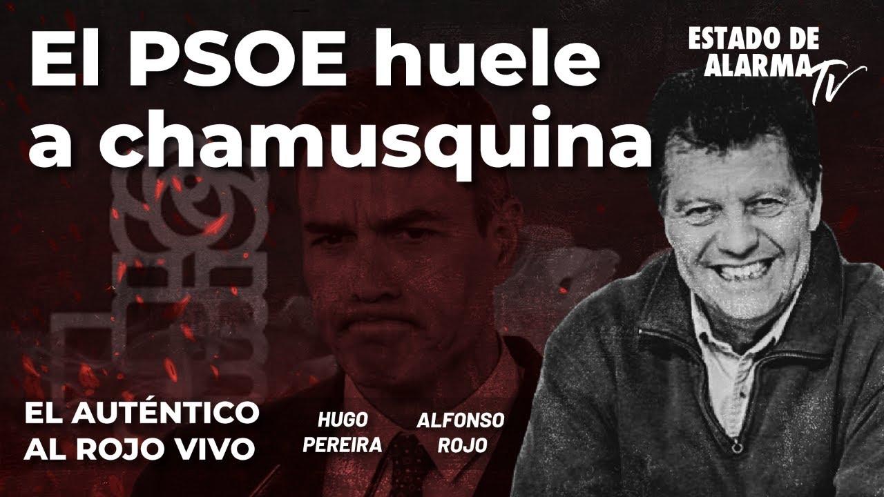 El Auténtico Al Rojo Vivo: El PSOE huele a chamusquina. En directo con Alfonso Rojo y Hugo Pereira