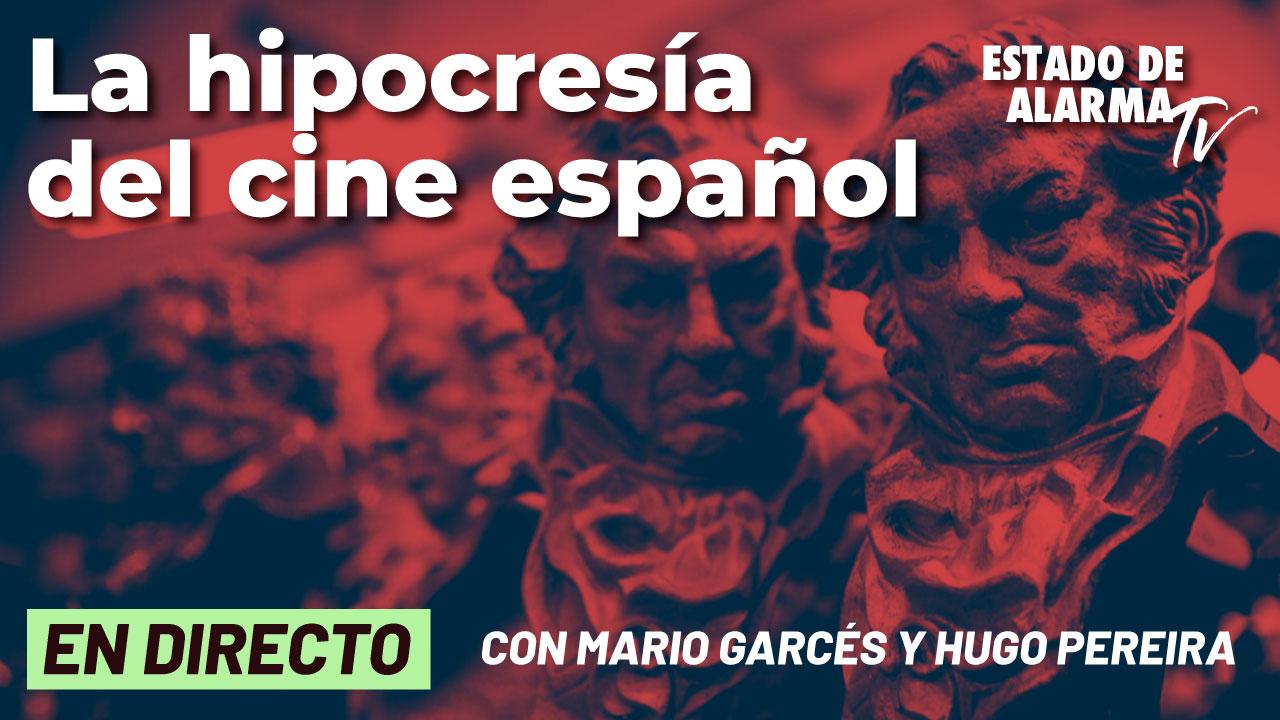 La hipocresía del cine español, Directo con Mario Garcés y Hugo Pereira